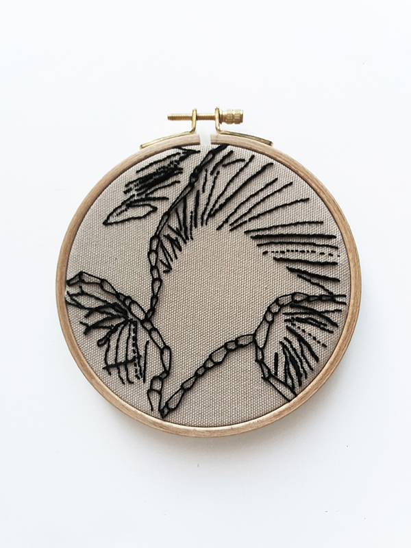 embroidery sample chain stitch