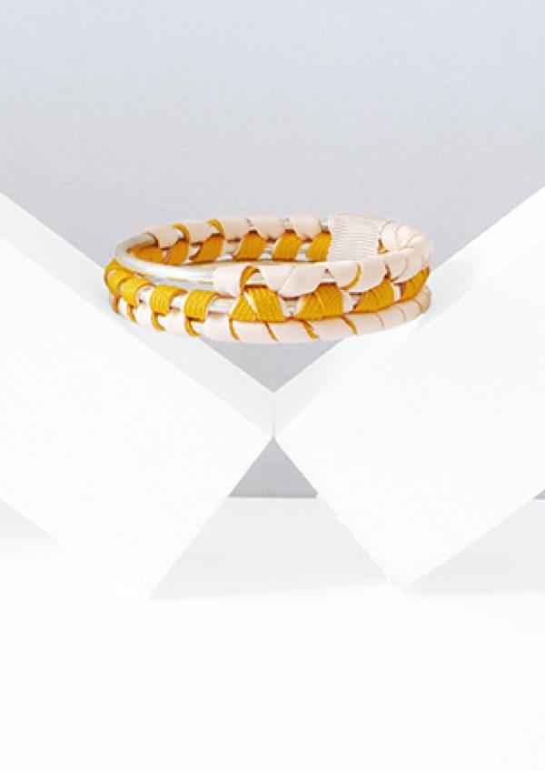costume jewelry large textile bracelet